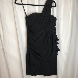 Phoebe Couture One Shoulder Mini Dress